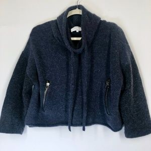 3.1 Phillip Lim Wool Alpaca Cowl Neck Sweater XS